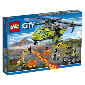 Lego City Volcano Supply Helicopter , Lego 60123