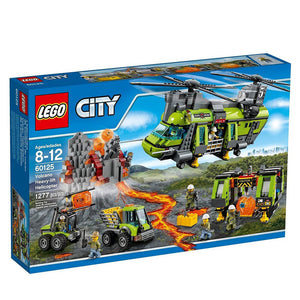 Lego City Volcano Heavy-lift Helicopter , Lego 60125