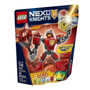 Lego nexo knight Battle Suit Macy 70363