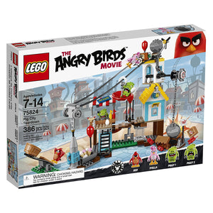 Lego Angry Birds Pig City Teardown , Lego 75824
