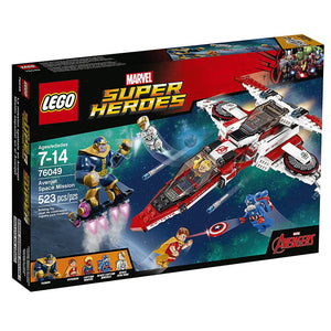 Lego Super Heroes Avenjet Space Mission 76049