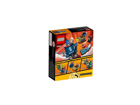 Lego Super Heroes Mighty Micros: Captain America vs Red Skull , Lego 76065