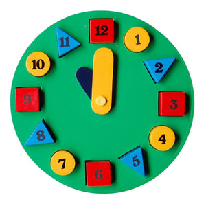 Little Genius Circle Clock BC-09