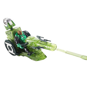 Mattel Green Lantern Kilowog Figure With Transforming Moto-Jet(Green) T7831-T7834