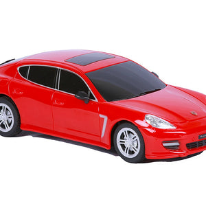 Mitashi Dash 1:16 Rechargeable R/C Porsche Panamera, Red DS015