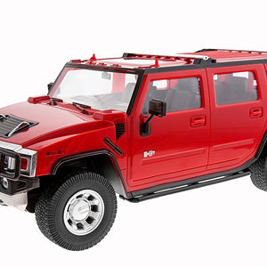 Mitashi Dash 1:12 Rechargeable R/C Hummer, Red DS016