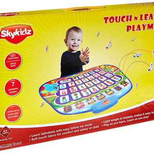 Mitashi SkyKids Touch and Learn Play Mat Learning Toy, SK124