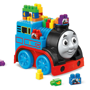 Fisher Price Mega Blocks Friends Build and Go Thomas Building Blocks Train