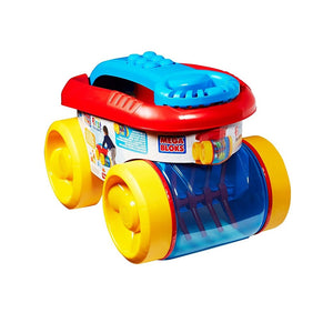 Fisher Price Mega Builders Block Scooping Wagon