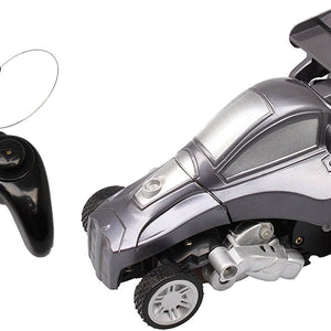 Mitashi Dash Rechargeable Remote Control Transformable Robo Car, Gray DS035