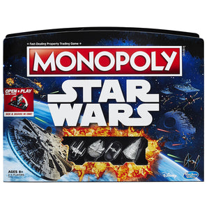 Monopoly Game Star Wars Edition,  Open and Play