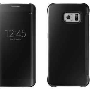 Barrier® Clear View Mirror Finish Flip Cover for Samsung Galaxy NOTE 5 ( BLACK )