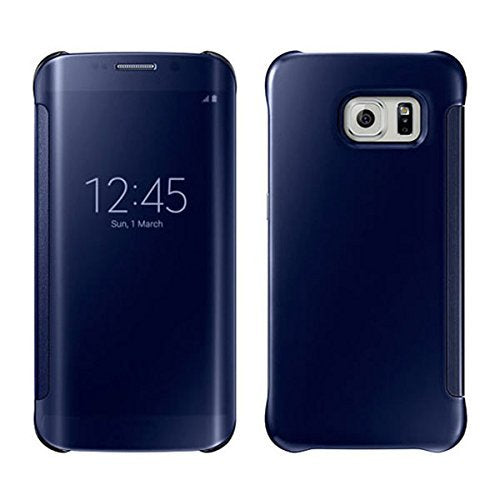best loved 00bff bf4fd Barrier™ Clear View Mirror Finish Flip Cover for Samsung Galaxy NOTE 5 (  BLUE )