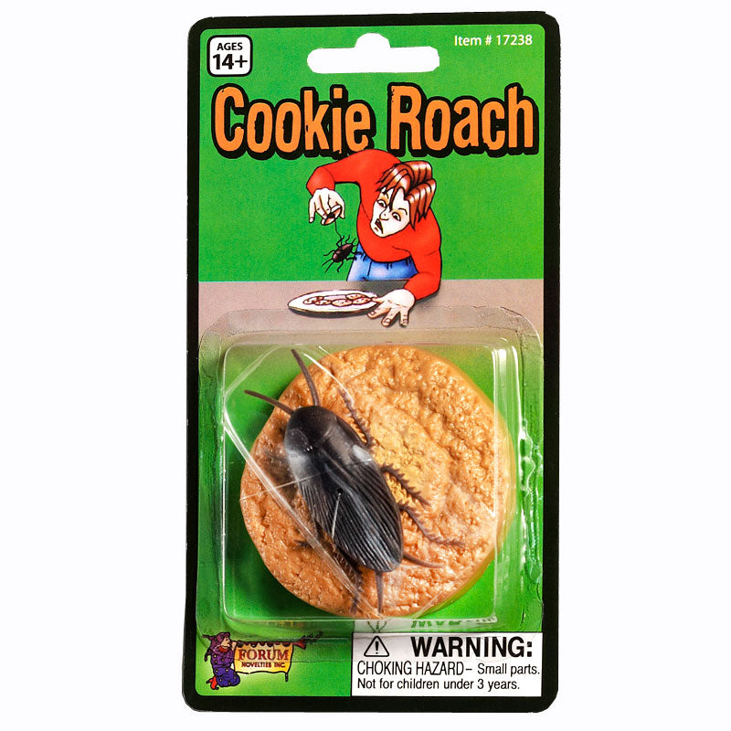FORUM NOVELTY ROACH ON A COOKIE GAG #17238