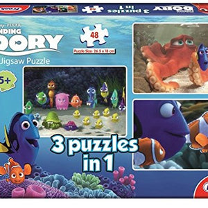 Frank 'Finding Dory 3-In-1' 48 Pcs Jigsaw Puzzle 11313