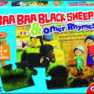 Frank Baa Baa Black Sheep and Other Rhymes, Multi Color 14402