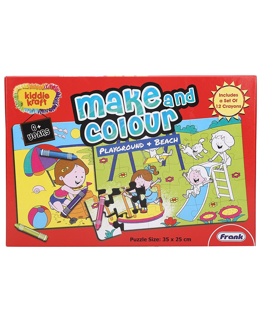 Frank - Make and Colour Playground + Beach 23103