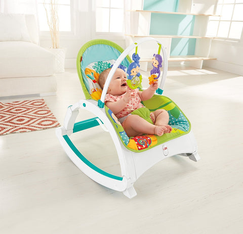 Fisher Price Rainforest Friends Newborn to Toddler Rocker