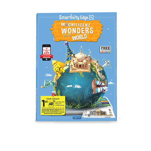Smartivity Edge Magnificient Wonders of the World Coloring Sheets STEM Toys  SMART 1041