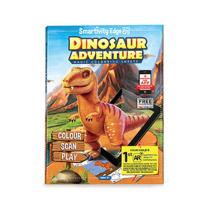 Smartivity Edge Dinosaur Adventure Colouring Sheets STEM Toys  1019