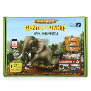 Smartivity Edge Gentle Giants Puzzle Pack, Multi Color 1023