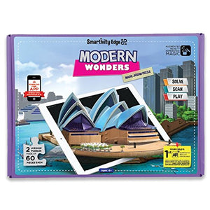 Smartivity Edge Modern Wonders Magic Jigsaw Puzzle  STEM Toys SMART 1044