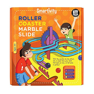 Smartivity Roller Coaster Marble Slide Educational Toy, Multi Color SMRT 1012