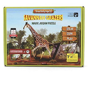 Smartivity Edge Savannah Grazers Puzzle Pack   STEM Toys  SMRT 1021