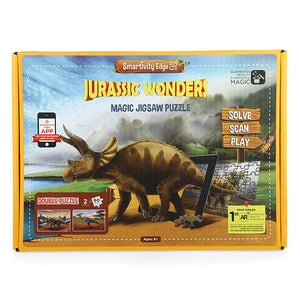Smartivity Edge Jurrasic Wonders Puzzle Pack  STEM Toys  SMART1025