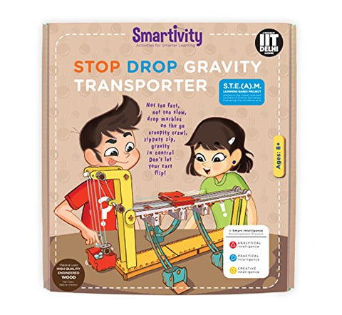 Smartivity Stop Drop Gravity Transporter Educational Toy, S.T.E.M SMRT 1028