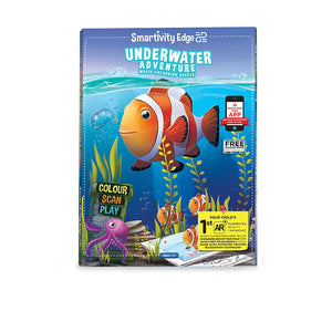 Smartivity Edge Underwater Adventure Coloring Sheets STEM Toys SMRT 1029