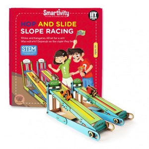 Smartivity Hop And Slide Slope Racing    STEM Toys  SMRT 1031