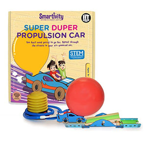 Smartivity Super Duper Propulsion Car Educational Toy , STEM Toys,  SMRT 1042