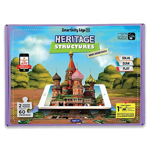 Smartivity Edge Heritage Structures Magic Jigsaw Puzzle    STEM Toys  SMRT 1047