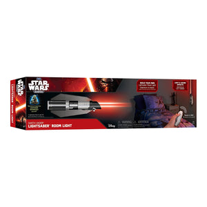 Uncle Milton Star Wars Science Lightsaber Room Light Darth Vader, Red/Black 15048