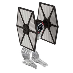 Hot Wheels Star Wars StarshipFirst Order Speacial Forces Tie Fighter Vehicle, Multi Color CGW52-CKJ67