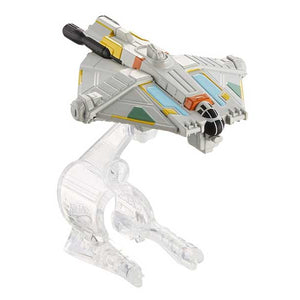 Hot Wheels Star Wars Starship Rebels Ghost Vehicle, Multi Color CGW52-DRX07