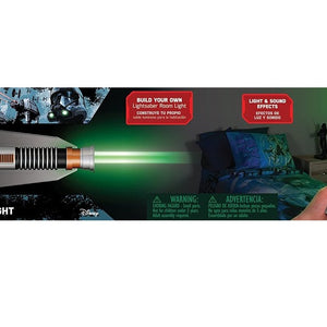 Uncle Milton Star Wars Science Lightsaber Room Light Luke Sky Walker, Multi Color 15046