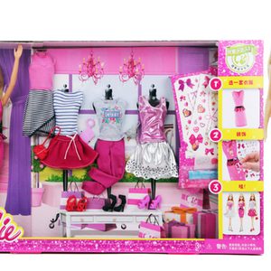 Barbie Doll Fashion Activity Gift Set  DKY29