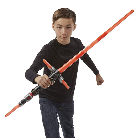 Star Wars The Force Awakens Kylo Ren Deluxe Electronic Lightsaber - Blade Builders