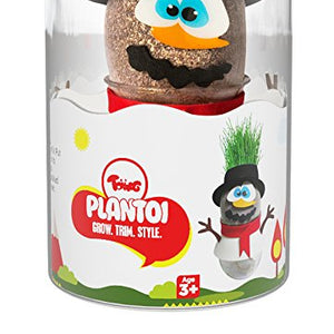 PlanToi - Skippy the Snowman ,  Indoor Plant Buddy Toy