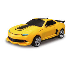 Transformers Troopers Fierce Robot Convertible Car Toy – Yellow TT661