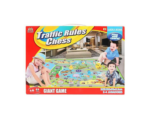 Traffic Rules Chess Baby Play Mat Kids Play Mat Game