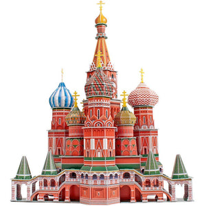Umbrella St. Basil's Cathedral 3D Puzzle MC093H