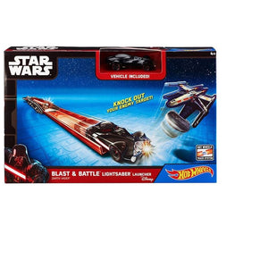 Hot Wheels Star Wars BLAST AND BATTLE  Launcher - Darth Vader