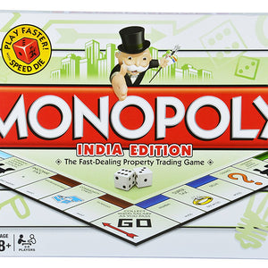 Monopoly India Edition Family (age 8+), Multi Color 952710
