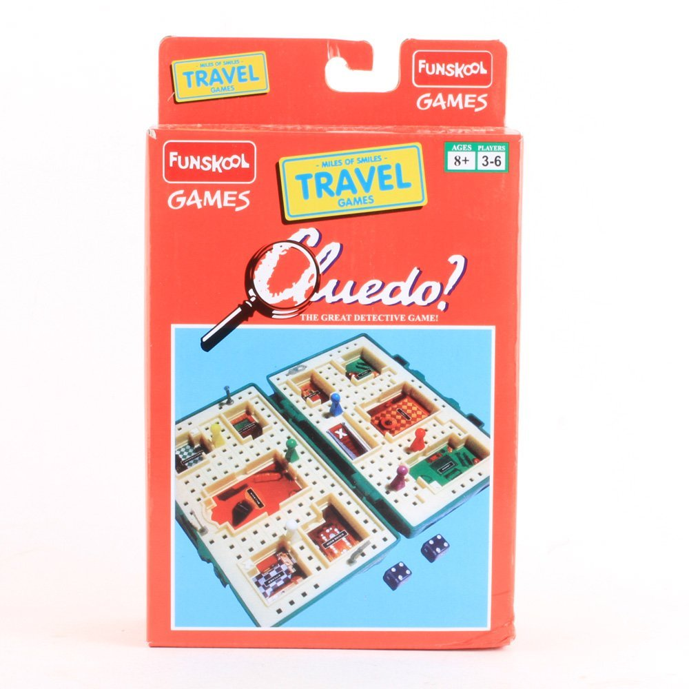Funskool travel game cluedo - 9563000