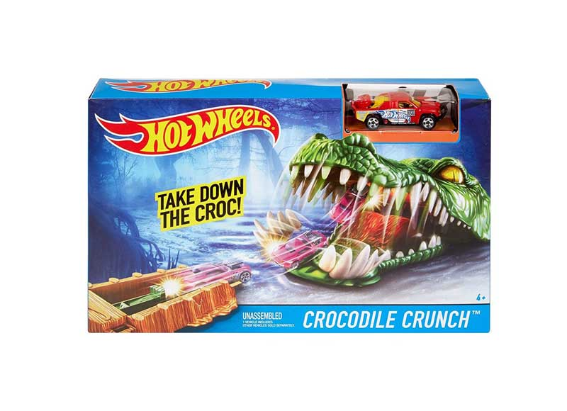 Hot Wheels Trackset CROCODILE CRUNCH  DYL99-DYM01
