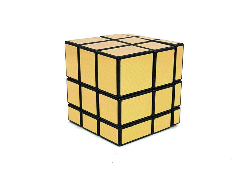 Golden Mirror Cube 3X3 Speed Cube-In irregular Shapes , Puzzle Cube