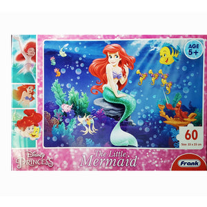 Disney The Little Mermaid Puzzle (60 pieces) by FRANK